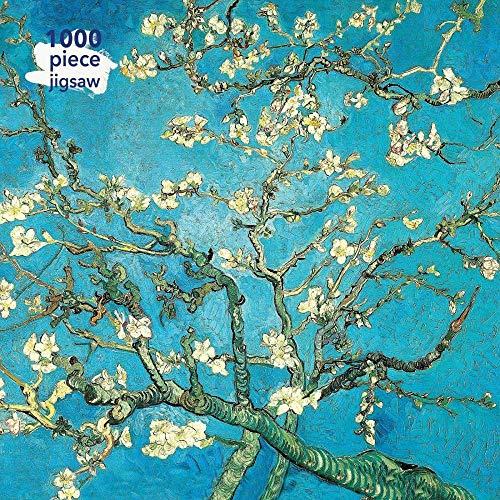 Puzzle 1000 Piezas niños Vincent Van Gogh: Flor de Almendro Adecuado para Adultos y Mayores de 12 años. 38X26CM