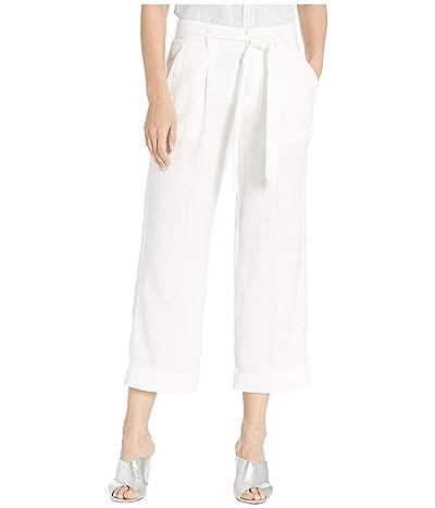 Sanctuary Inland Sashed Crop Pants (Brite White) Women