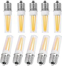 LED Candelabra Bulb, Long Filament Energy Saving 10Pcs E17 Easy to Install Mini LED Bulb, for Car Landscape Bulbs Hotels E...