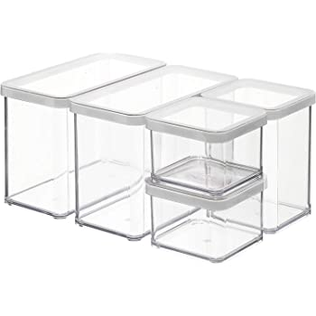 Vorratsdosen Set 7 teilig Aromadicht Aufbewahrungsbox