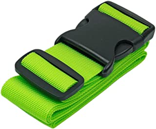 BlueCosto Luggage Strap Suitcase Straps Belts Travel Accessories, 1-Pack, Green