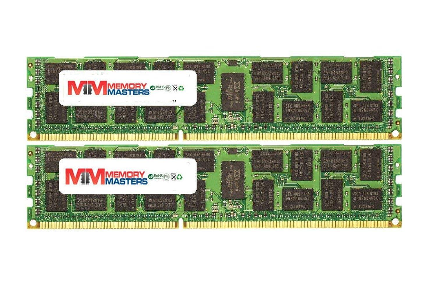 脈拍ちっちゃいメドレー16GB 2X8GB メモリー RAM 適合機種: PowerEdge M820 DDR3 ECC Registered RDIMM 240pin PC3-6400 800MHz MemoryMasters メモリ モジュール アップグレード