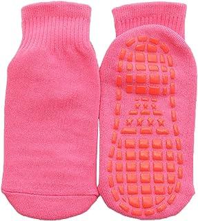 Wamvp, Unisex Calcetines Antideslizantes de Deporte Calcetines Antideslizantes para Hombre Mujer Niños Niñas para Yoga Danza Trampolín Fitness Hogar
