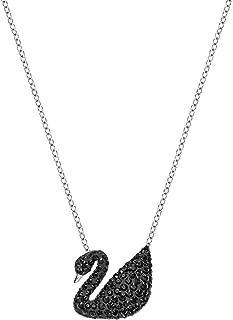 Swarovski Iconic Swan Pendant - Black - 5347329