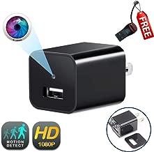 USB Wall Charger Camera   GEAGLE 1080P HD USB Wall Charger Hidden Spy Camera/Nanny Spy Camera Adapter   External Memory   Motion Detection