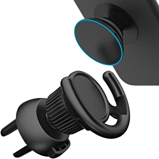 MEGICOT Car Mount Clip for Pop Socket Users, 360° Rotation Universal Car Air Vent Holder Compatible with iPhone 8, 8 Plus,...