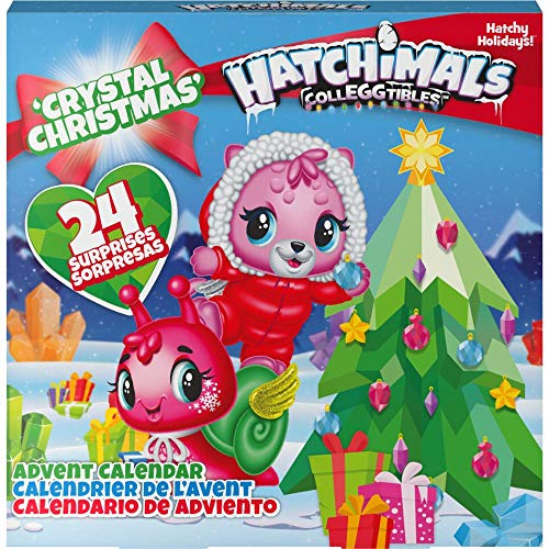 Hatchimals - CollEGGtibles Crystal Christmas - Adventskalender mit 15 exklusiven Sammelfiguren
