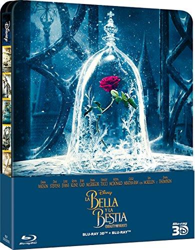 La Bella Y La Bestia - Edición Metálica (BD 3D + 2D) [Blu-ray]