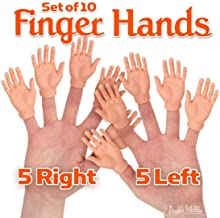 Accoutrements Set of Ten Finger Hands Finger Puppets
