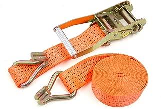 JIGVA Ratchet Tie Down Strap 4M x 25MM (Capacity: 4 Tons = 4000kg2 inch)