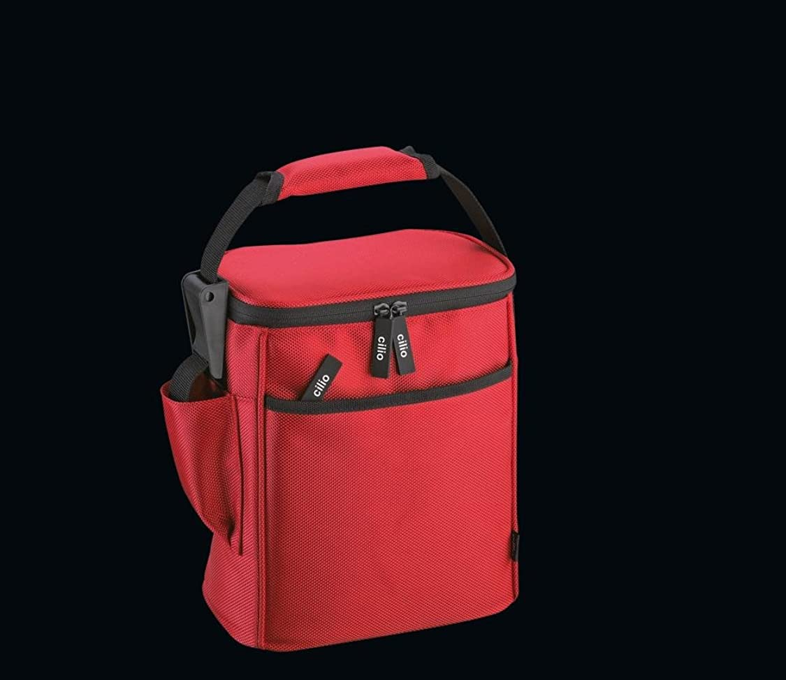 Cilio 4017166106220 Insulated Bag Dolomiti red 0.6L, one Size, rm67994207611265