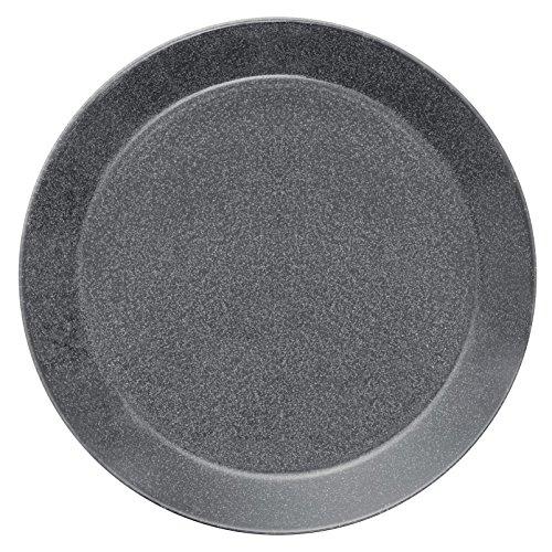 Iittala Teema Assiette plate en porcelaine Gris 26 cm