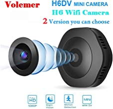 GXSLKWL WiFi HD 1080P Micro Camera Night Version Mini Action Camera with Motion Sensor Camcorder Voice Video Recorder Smal...