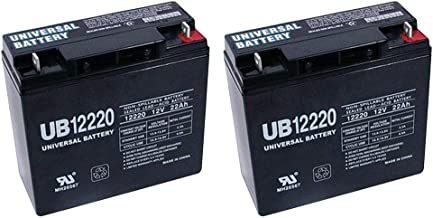 Universal Power Group 12V 22Ah Battery Activecare Spitfire EX 1420-2 Pack