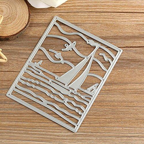 Kanpola Metal Cutting Dies Stencil DIY Scrapbooking Embossing Album Paper Card Craft Idie Cut Cutting Machine Craft Dies for Card Making cuts