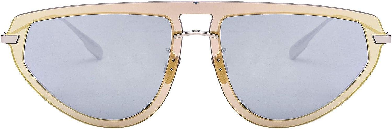Dior Women's DIORULTIME283I0T Beige Acetate Sunglasses