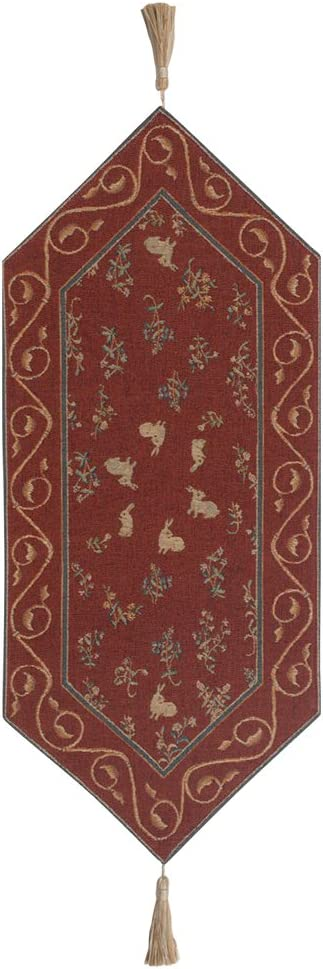 Medieval Rabbit II French Tapestry 34.00