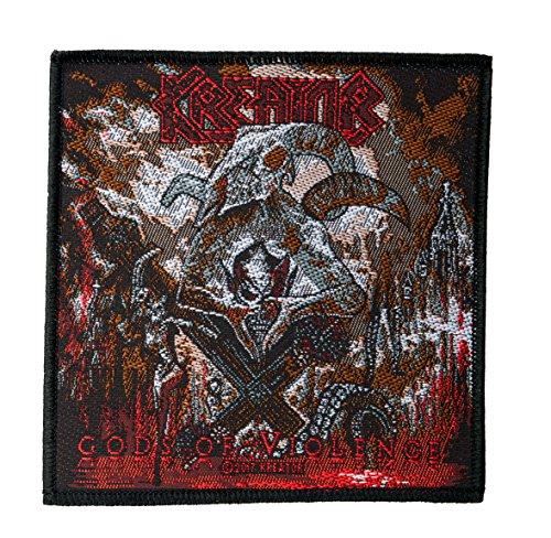 Kreator Gods Of Violence Aufnäher Patch - Gewebt & Lizenziert !!