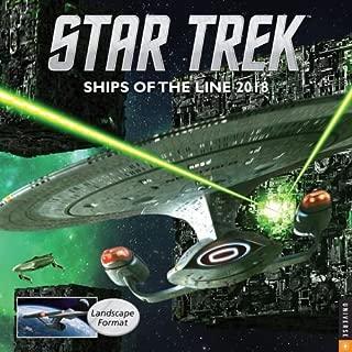 2018 Star Trek Ships of the Line Wall Calendar