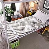 Colchón de cojín de Tatami de futón Grueso japonés, Antideslizante, colchón de futón Suave, tapetes Plegables, Dormitorio para Estudiantes, litera, Cama para Dormir en casa, Almohadillas de Algo