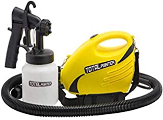 Total Painter 925 Watt HLVP Professional Paint Sprayer & Accessory Set by Paint Zoom for Pros, Home Improvement & DIY