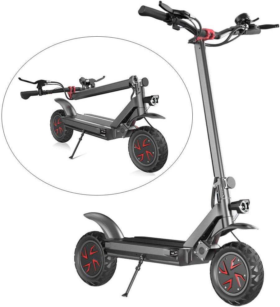 LLPDD Moto para Adultos, Scooter eléctrico, 1800W de Alta Potencia Off-Road Scooter eléctrico, de 58 km/h E-Scooter para el Adulto y Adolescente