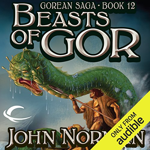 Beasts of Gor audiobook cover art