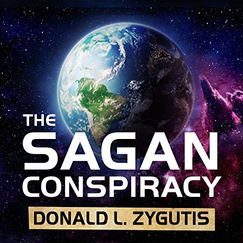 The Sagan Conspiracy audiobook cover art