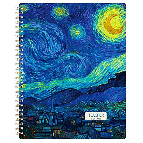Indeme Teacher Planner 2021-2022 - Week to View Academic Teacher Diary...