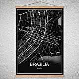TIANLIANG Benutzerdefinierte Muster Brasilia Moderne Poster