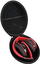 Hetmitshell Hard EVA Travel Case Fits Mpow 059 Bluetooth Headphones Over Ear Hi-Fi Stereo Wireless Headset Foldable Soft Memory-Protein Earmuffs (Black)
