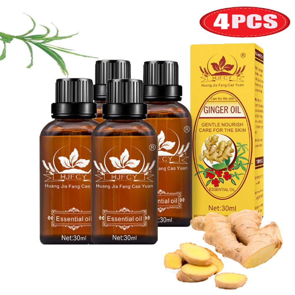 Ginger Massage Oil 100% Pure O Natural Max 89% OFF Lymphatic Quantity limited Drainage