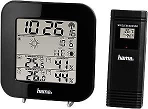 Hama EWS-200 Estación meteorológica, Negro, 52.90x38x32.40 cm