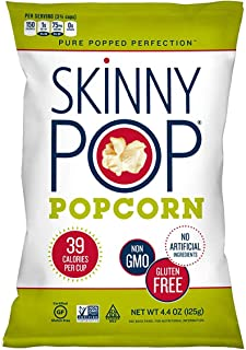 SKINNYPOP Original Popped Popcorn, Individual Bags, Gluten Free Popcorn, Non-GMO, No Artificial Ingredients, A Delicious S...