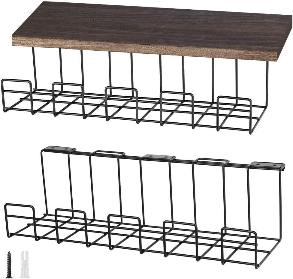 MOOACE Under Desk Cable Management Baskets 16'' for Cords Max 69% OFF Tray Oklahoma City Mall