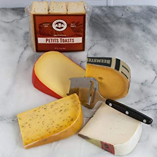 Dutch Cheese Assortment in Gift Box (2 pound) - A Cheese Connoisseur's perfect compilation of Dutch Cheese.