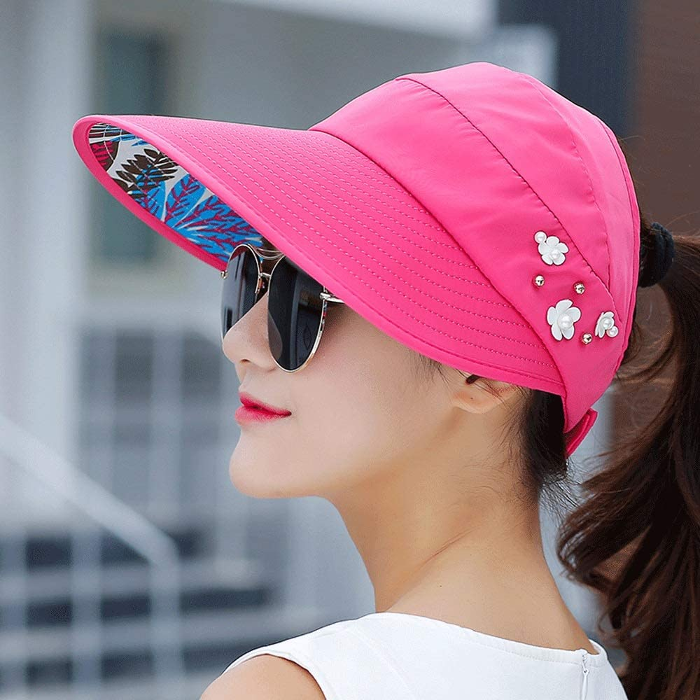 YD Hat - Women's Summer Sun UV F Foldable Great Max 45% OFF interest Protection Outdoor
