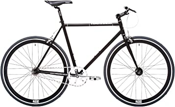REID Unisex Adult Harrier, M Matte Singlespeeds and Fixies Hybrid Bike - Matte Black, 130 x 40 x 20