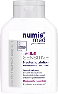 Protective Skin Lotion Imported from Germany Dermatologist Tested 5 Star Guarantee For Dry Sensitive Skin Low ph 5.5 Paraben Free Vegan Moisturizing Body Lotion 200 ml by Numis Med