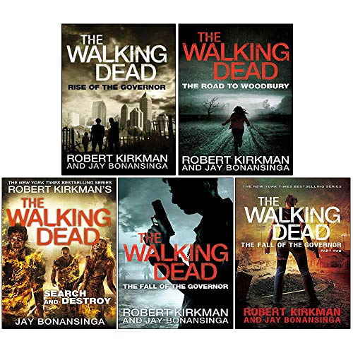 Download The Walking Dead Series 5 Books Collection Set Rise of the Governor The Fall of the Governor Part One The Fall of the Governor (Zombies Walking Dead Governor Series) 9526527577