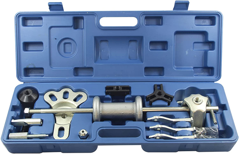 QWERTOUR 9-Way Genuine Free Shipping Slide Hammer Arlington Mall Puller Pulle Dent Set Bearing