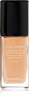 Chanel Vitalumiere Satin Smoothing SPF 15 Foundation - 25 Petale for Women - 1 oz