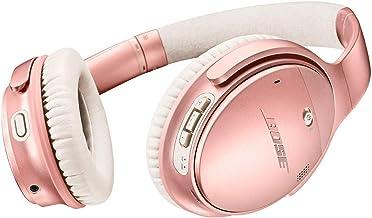 Bose QuietComfort 35 II Auriculares Bluetooth inalámbricos, cancelación de ruido, con control de voz Alexa, habilitado con Bose AR - Oro rosa (renovado)