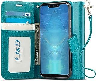 comprar comparacion J&D Compatible para Huawei Mate 20 Lite Funda, Protección de Cartera Soporte Plegable Funda Pesada Resistentes Billete...