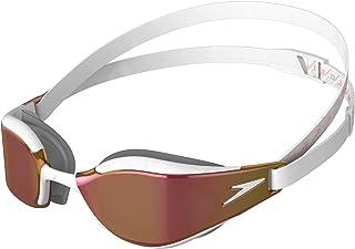 Speedo Fastskin Hyper Elite Mirror, Unisex Adult, One Size, White Gold