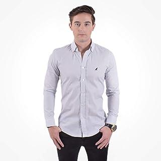 10a2409c8c Moda - Branco - Camisas Sociais   Camisas na Amazon.com.br