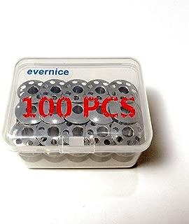 100 Bobbins for Elna Star,Su,TSP,Carina,Lotus,Stella,Elnita,Air Electronic++