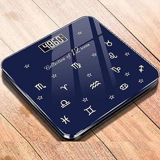 Báscula Líquido de peso corporal escala electrónica de cristal de salud seco escala batería precisión adulto de la familia niño que pesa báscula de baño balanza electrónica báscula inteligente