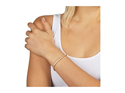 Rebecca Minkoff Stone Bracelet (Gold/Pink) Bracelet