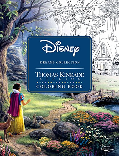 Disney Dreams Collection Thomas Kinkade Studios Coloring...